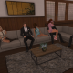 Second Life sofa
