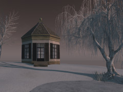 Second Life gazebo