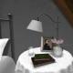 Romantic bedside table