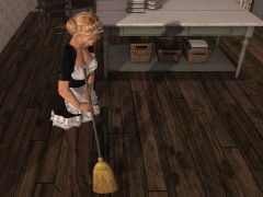animated broom