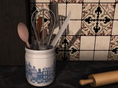 delft-blue-pot-kitchen-utensils