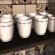 porcelain milk cups