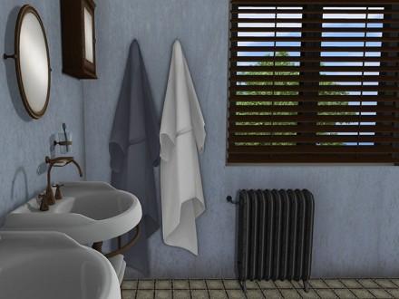 mesh-bathrobe