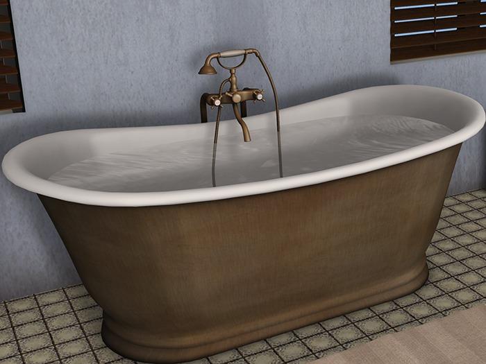 Iron Bath Tub - Bain de Bateau | Dutchie | SL