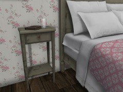 mesh-bedside-table