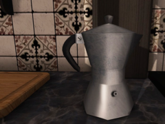 mesh cafetiere