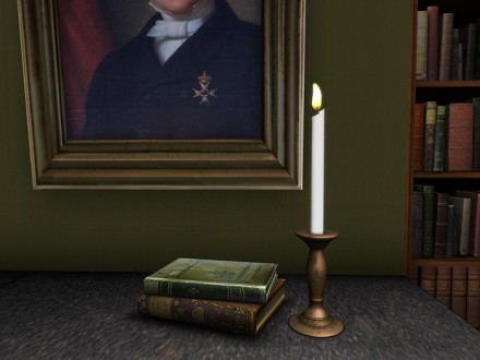 second life copper candlestick