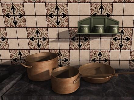 mesh-copper-pans