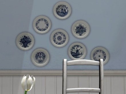 mesh decorative plates
