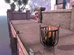 mesh firepit