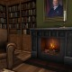 mesh-fireplace