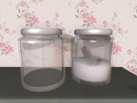 mesh-glass-pots-washing-powder