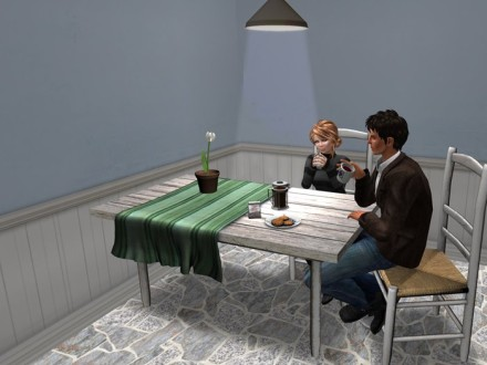 second life kitchen table