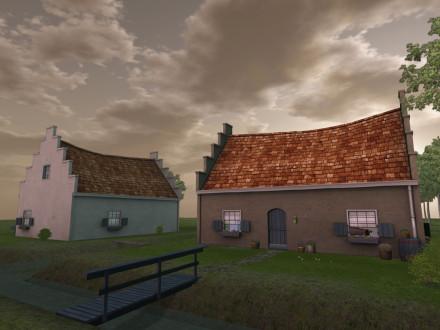 mesh models cottages