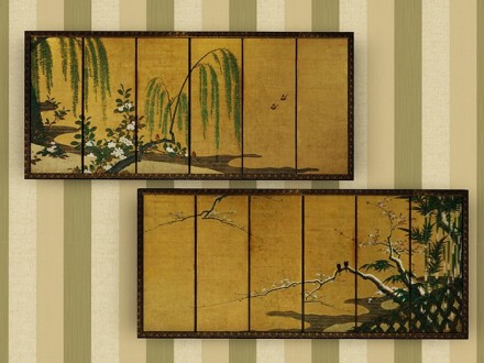 mesh-paintings-japanese-panels