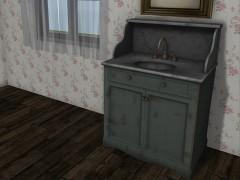 mesh-sink-console-grey