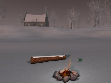 Second Life landscaping snow