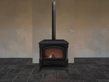 mesh wood stove