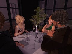 second life dinner party