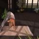 Second Life yoga mat bend