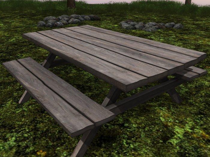Meshpicnictable Dutchie SL - Mesh picnic table