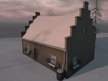 snowroof addon polder cottages