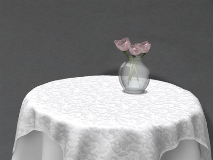 second life vase with flowers