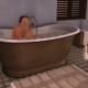 Second Life iron bathtub hug