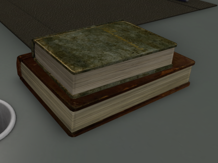 old dictionary and thesaurus