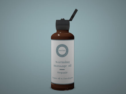 Dutchie-3D-Design-bottle-with-massage-oil