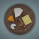 Dutchie-3D-Design-mesh-white-cheese-platter