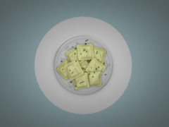 Dutchie-3D-Design-mesh-white-plate-with-ravioli