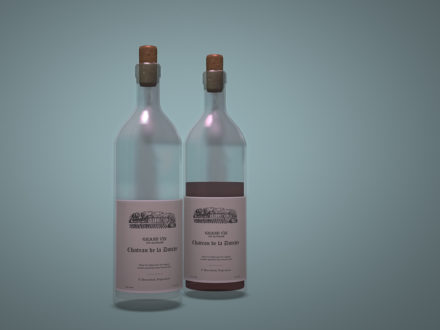 Dutchie-3D-Design-non-alcoholic-wine-bottle-red