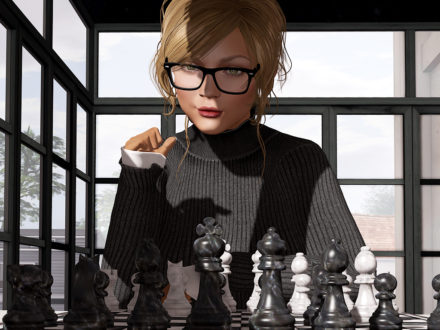Dutchie animated playable chess game