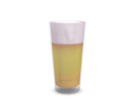 second life decor 3D model beer glass
